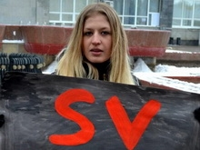 Участники пикета: Работники SV-cafe пытаются очернить память Буркова