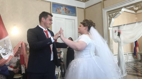 В преддверии Красной горки в саратовских ЗАГСах проходят регистрации браков в народных традициях