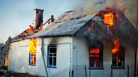 В селе Мироновка в огне погиб 43-летний курильщик