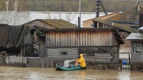 Паводок. На большинстве рек вода пошла на спад