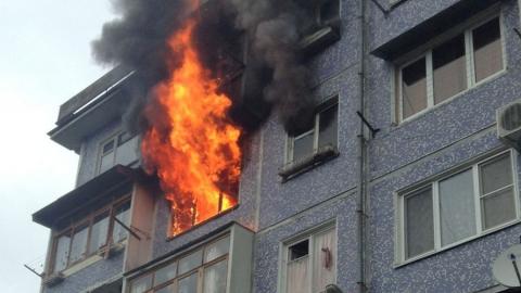 В пожаре на Миллеровской погиб мужчина