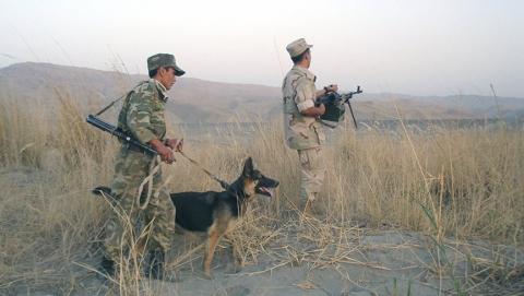 Пограничники задержали двух граждан Афганистана