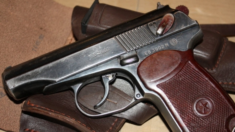 На Московской задержали мужчину с пистолетом