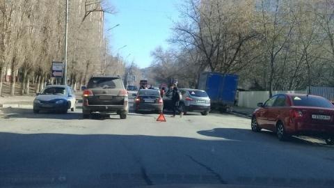 На пересечении Чапаева и Посадского произошло ДТП