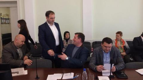 Депутат Дмитрий Кудинов сорвал заседание думской комиссии