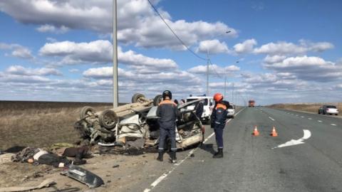 Пенсионеры погибли в аварии у Елшанки