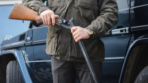 У села Кошели задержали вооруженного водителя