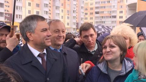 Вячеслав Володин: «В июне эта школа начнет подниматься с земли»