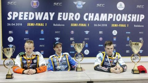 Балаковские гонщики сделали медальный дубль в европейском полуфинале