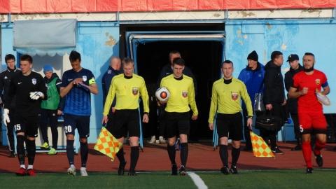 Футболисты «Сокола» остановили лидера