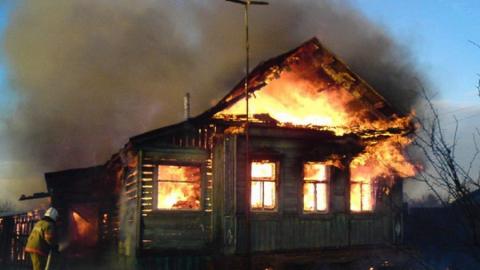 Житель села Труд отпраздновал Первомай и сгорел вместе с домом