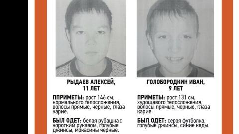 В Саратове пропали два мальчика