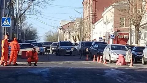 В Саратове перекрыта улица Кутякова