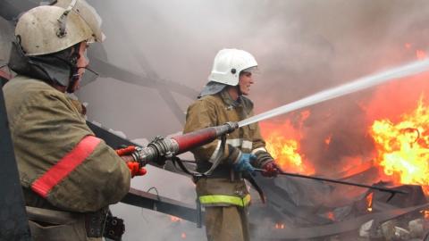 В селе Малое Щербедино горела крыша ФАПа