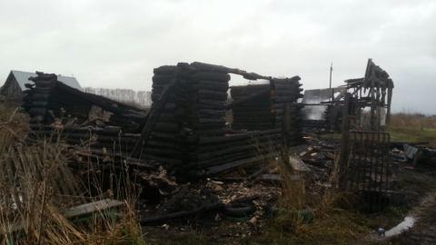 В Петровске в сгоревшем доме обнаружены тела мужчины и женщины