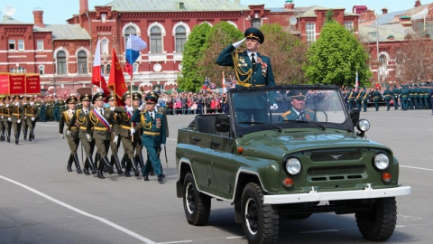 В понедельник в Саратове пройдет генеральная репетиция парада ко Дню Победы