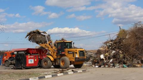 Более 40 000 кубометров крупногабаритных отходов отправились на экологически безопасное захоронение