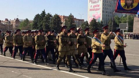 В Саратове проходит генеральная репетиция парада ко Дню Победы