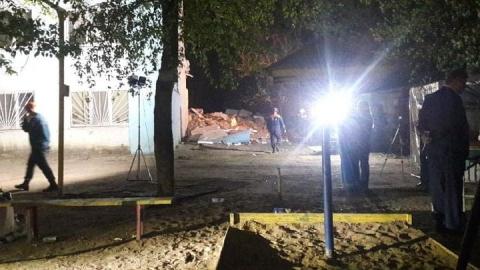 Разбор завалов на проспекте Строителей будет продолжаться всю ночь