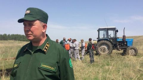 Министр Дмитрий Соколов: «Степной пожар – страшная вещь!»