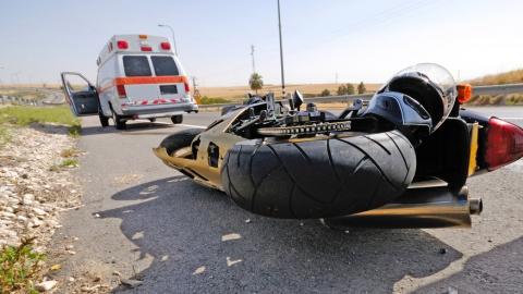 В Ягодной Поляне разбилась женщина на мотоцикле