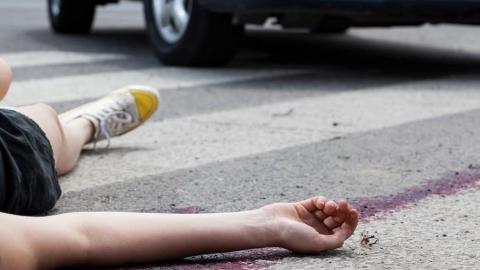 На Советской водитель сбил девочку и скрылся с места ДТП