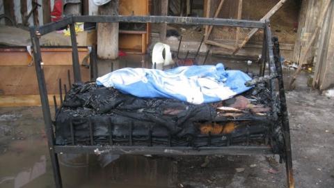 По факту гибели на пожаре матери с новорожденным сыном возбуждено дело