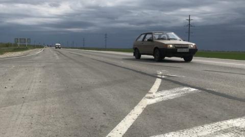 Отремонтированная дорога у Генеральского покрылась трещинами