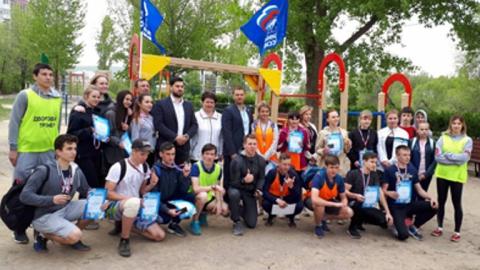 В Ленинском районе прошел отборочный этап турнира «Команда нашего двора»