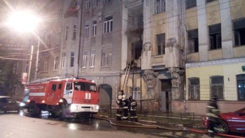 Сгоревший памятник архитектуры в Саратове посетил чиновник правительства