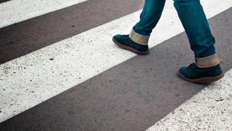 В Саратове на пешеходном переходе сбит 9-летний мальчик