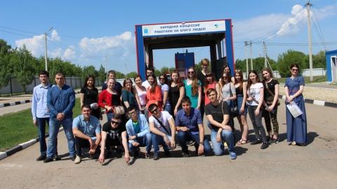 Студентам Президентской академии показали процессы обработки коммунальных отходов