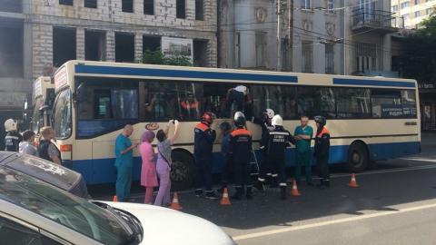 Столкнулись автобусы маршрутов №6 и №53