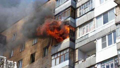 После пожара на Маяковского найден труп молодого мужчины