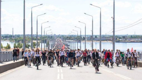 """Автодорожный мост """"Саратов-Энгельс"""" перекроют из-за велопарада"""