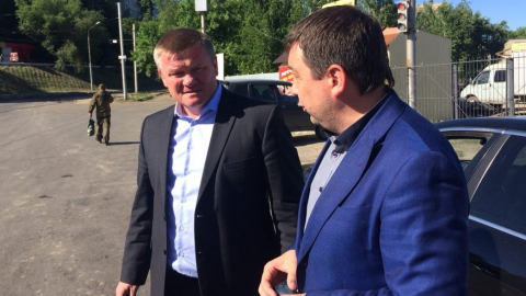 Михаил Исаев предложил отремонтировать улицу Азина в следующем году