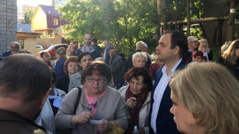 Дмитрий Кудинов встретился с жителями Октябрьского района