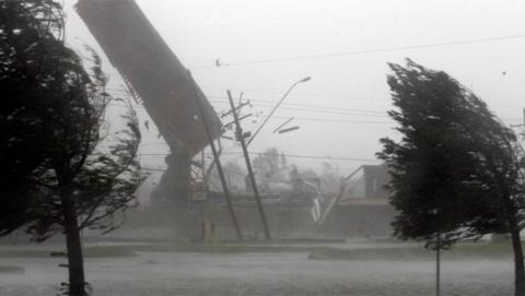 В Петровском районе введен режим ЧС из-за прошедшего урагана