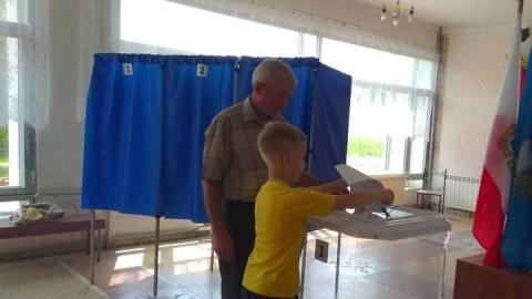 Жители Татищевского района традиционно активно участвуют в голосовании