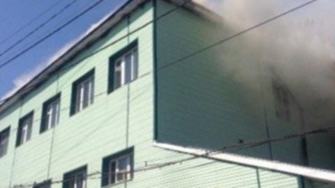 В Ершовском районе произошел пожар в здании администрации