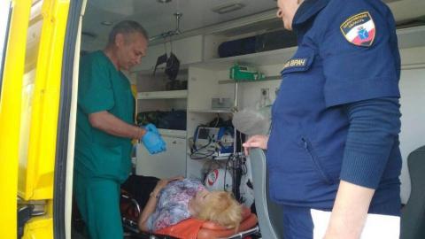 На проспекте Энтузиастов пенсионерку сбил грузовик