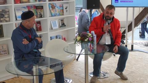 Издатели Саратова выступили на фестивале «Красная площадь»