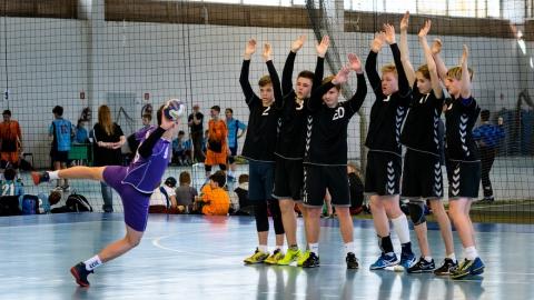 Саратовцы стали первыми на Международном фестивале гандбола