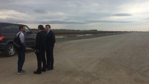 На взлетной полосе нового аэропорта нашли непрочный 600-метровый участок