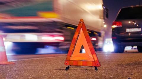 В аварии на трассе погиб человек
