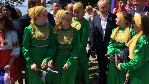 В Саратове прошел парад дружбы народов