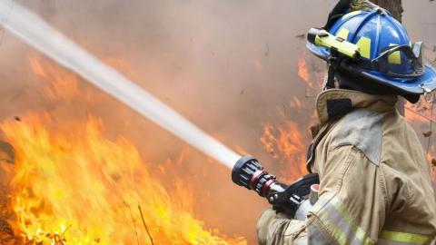 В Балакове произошел крупный пожар в Безымянном проезде
