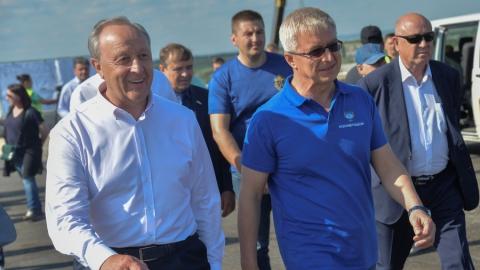 Игорь Астахов отметил высокую степень готовности дороги к новому аэропорту