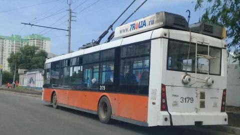 В Энгельсе встали троллейбусы
