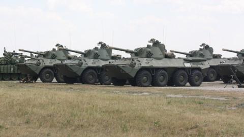 Учебный центр в Саратове получит новые пушки и орудия